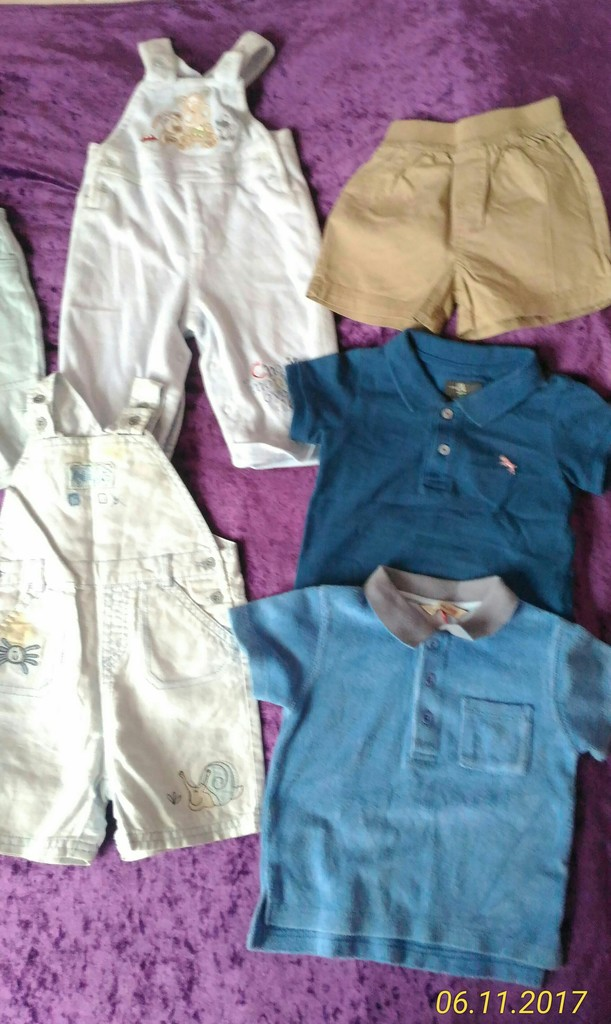 Пакет летней одежды д/м, 3-6мес