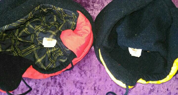 Детские шапки на 3-6л