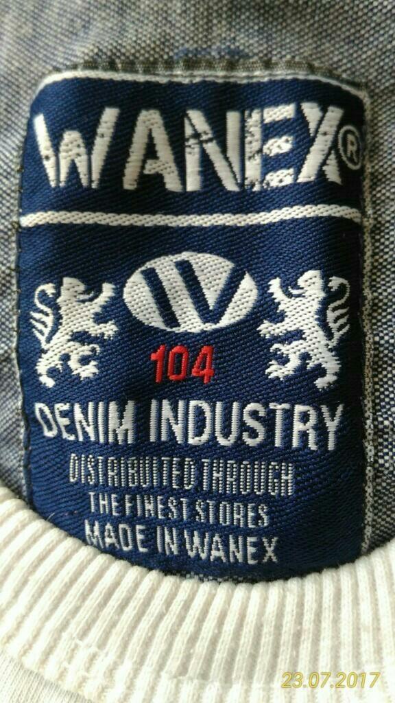 Рубашка обманка Wanex, р.104