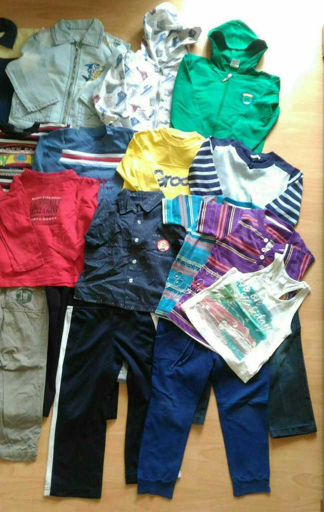 Пакет вещей мальчику на 3-5л