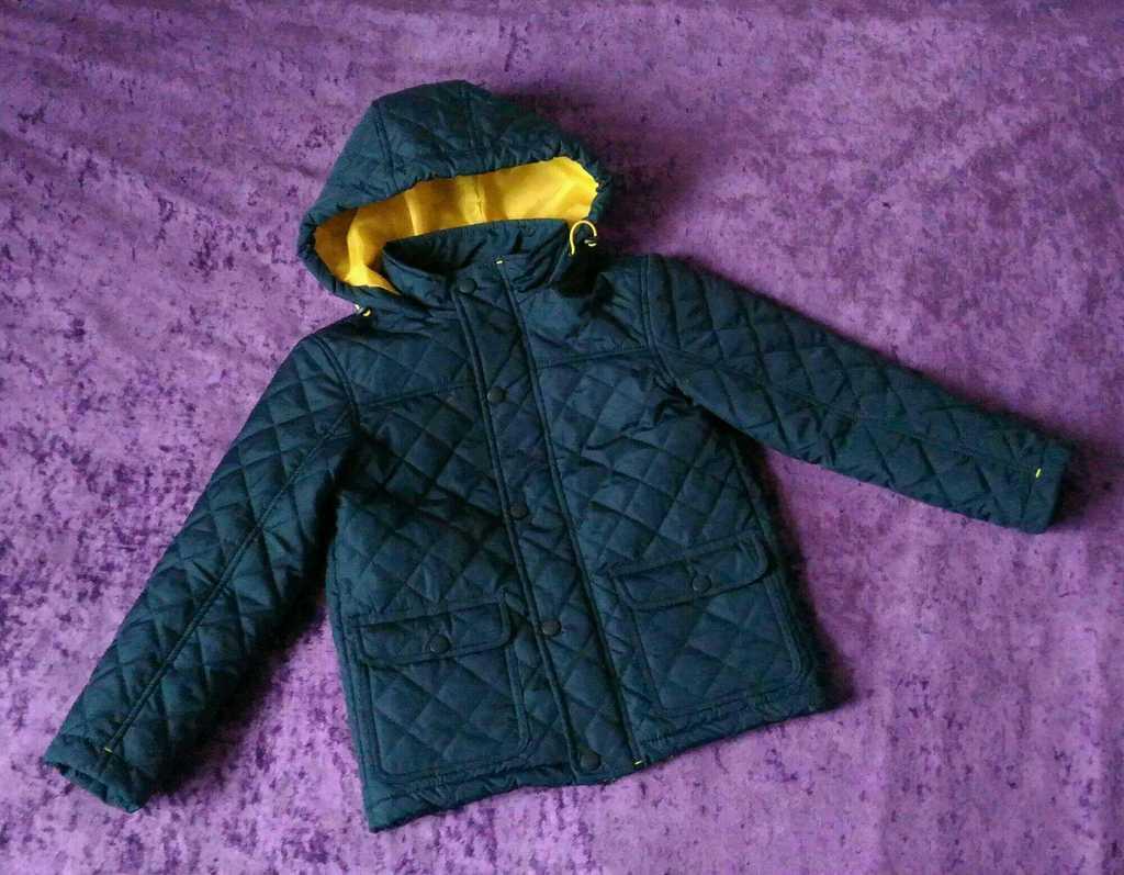 Стеганая куртка, р.122