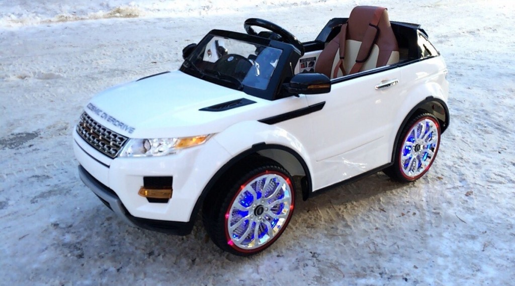 электромобиль range rover а111аа #4