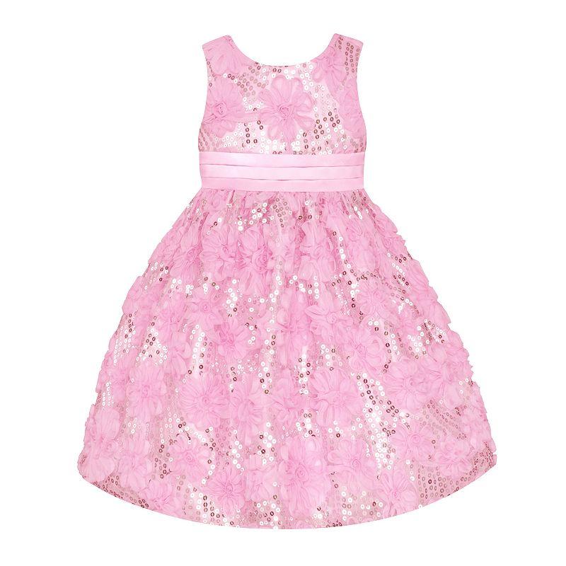 Платье нарядное розовое (новое)