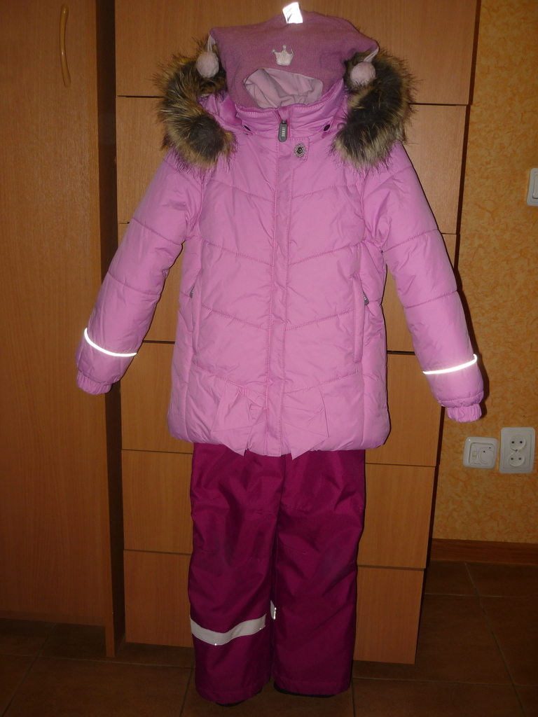 Зимний комплект LENNE/ Lassie для девочек 116 см .