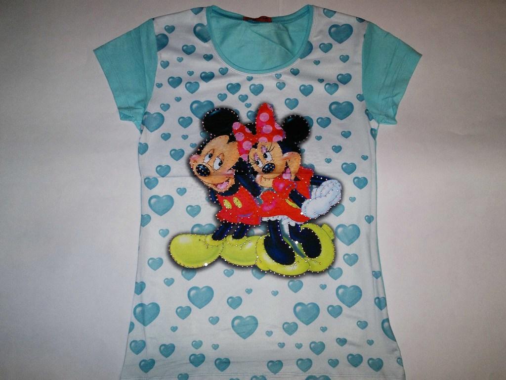 НОВЫЕ Красивые ФУТБОЛКИ-Disney!!!В ассортименте