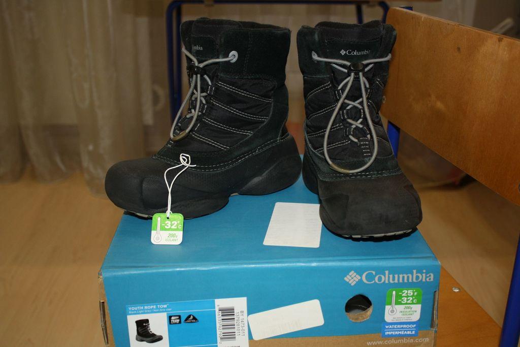 Зимние сапожки Columbia