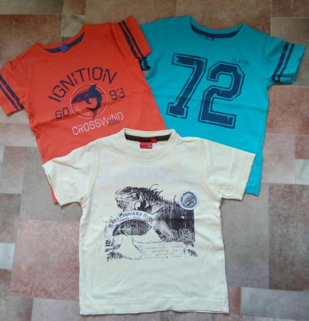 Яркие стильные футболки пакетом р.104