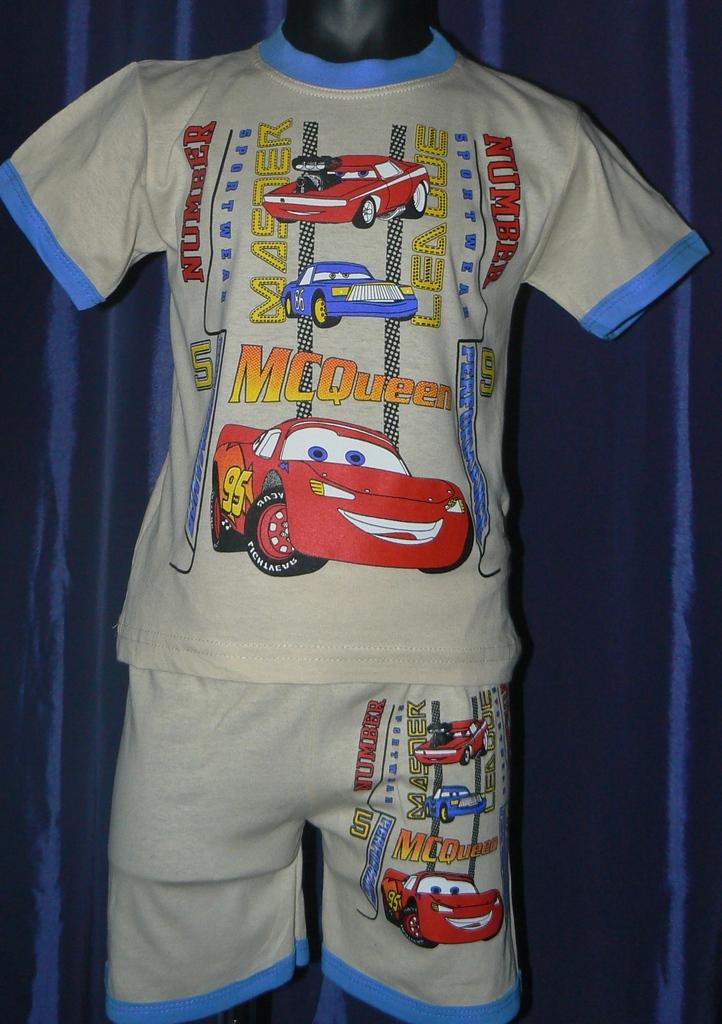 КОМПЛЕКТ (футболка+шоры) новый р.128