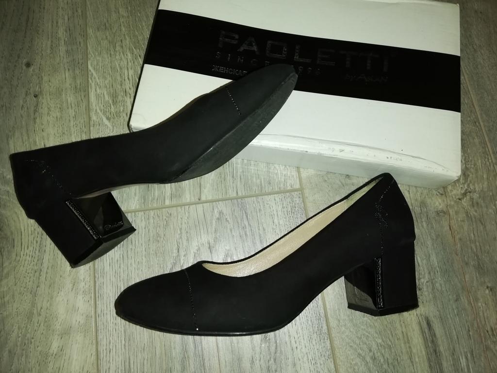 Туфли Paoletti, стильные р. 37(24см) на небольшом