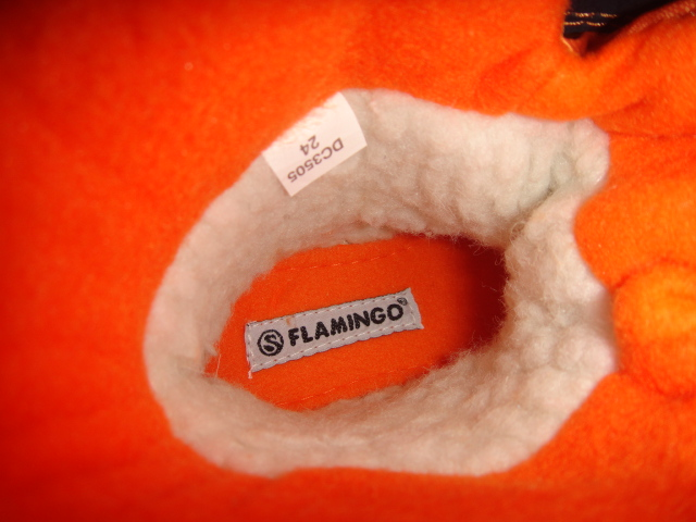 Зимние сапожки Фламинго мембранные (новые)
