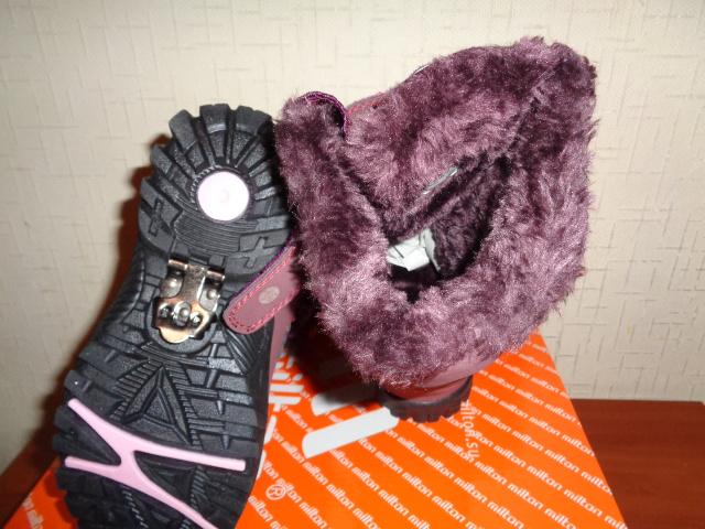 Новые сапожки Милтон, зима
