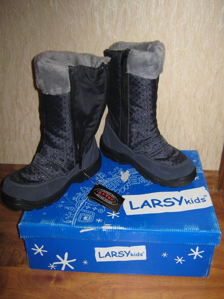 Новые сапоги на мембране LARSYkids