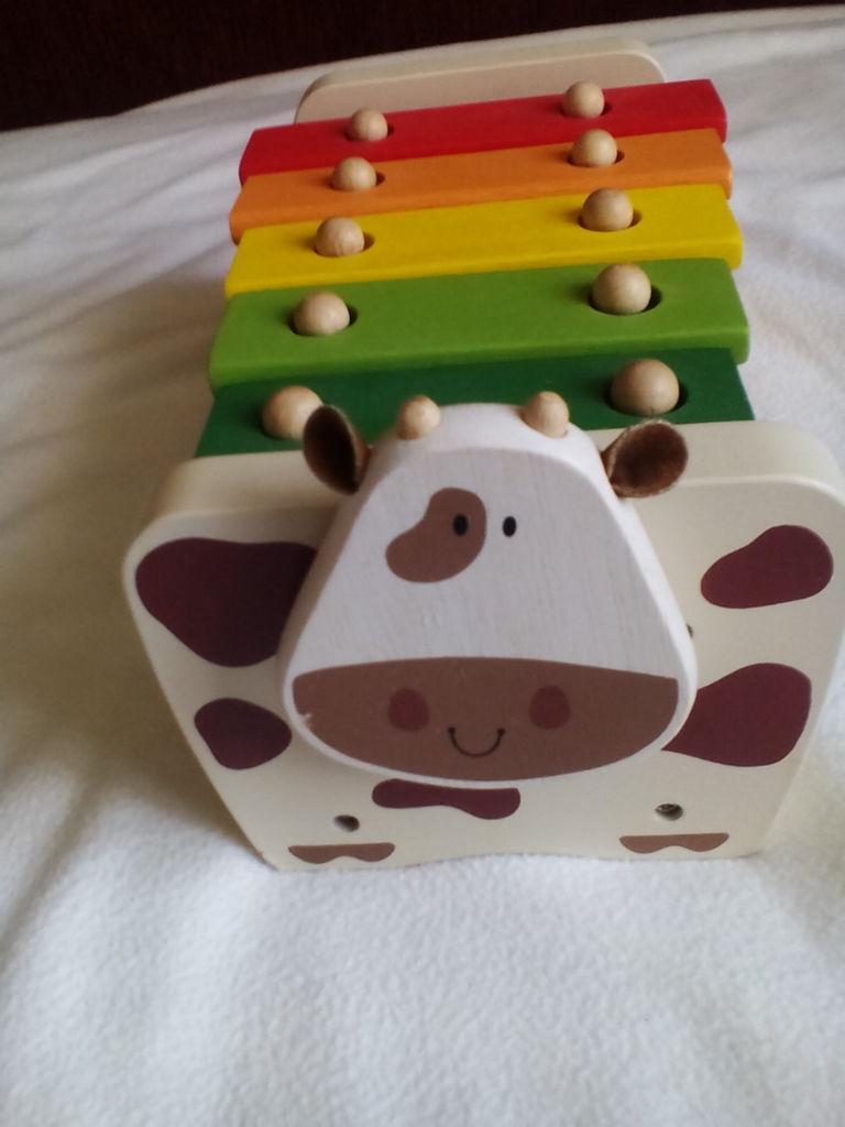 Деревянный ксилофон-корова 19+ Gulliver