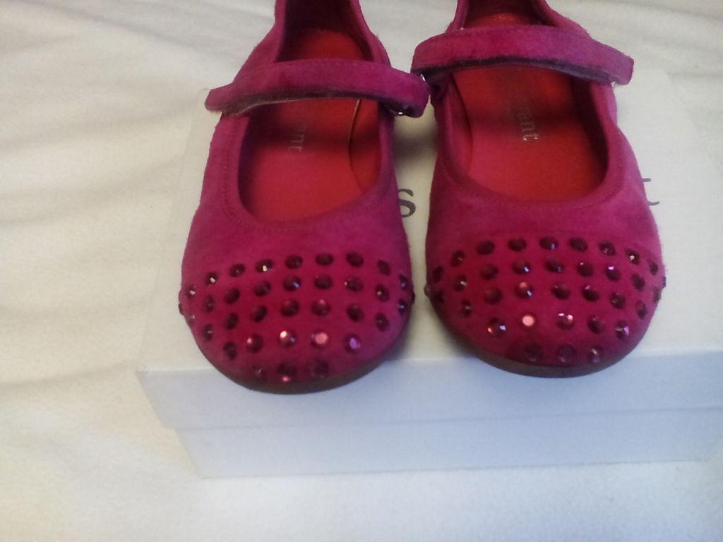 Замшевые туфли Miss Grant 27-17.5 см Италия
