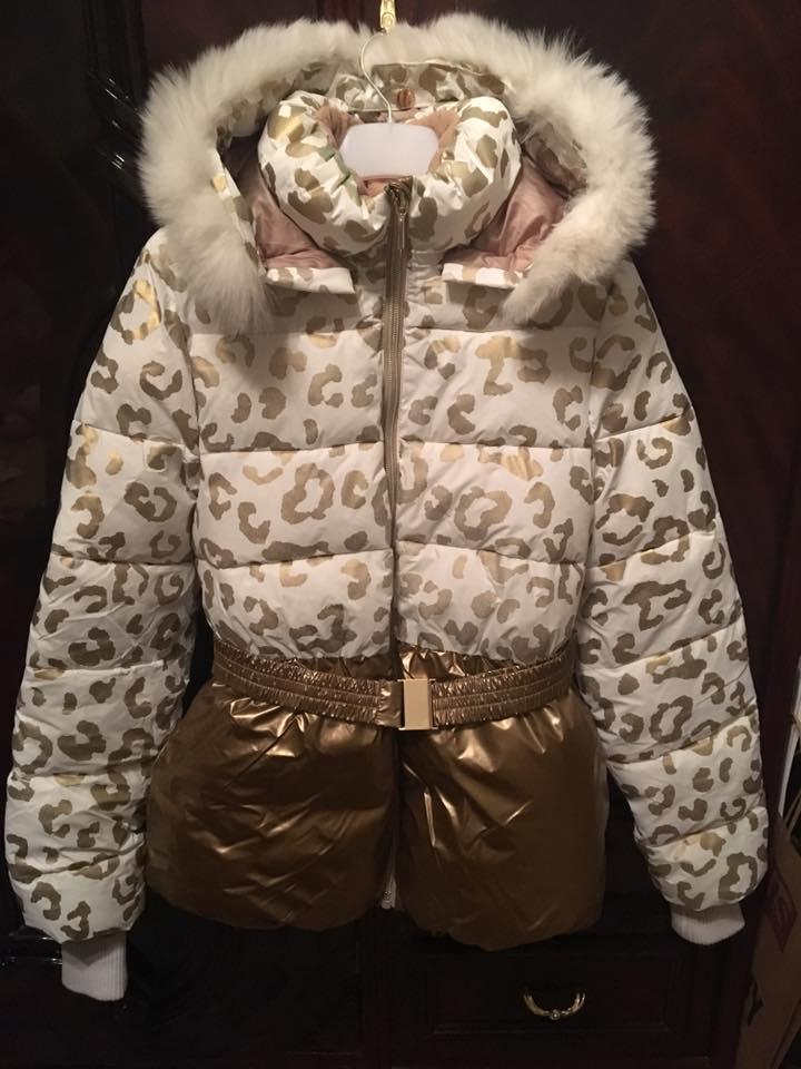 Нарядная зимняя куртка Orby
