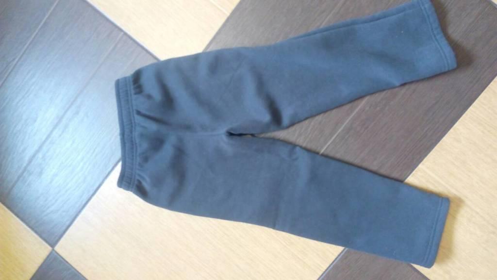 Новые флисовые штаны 110
