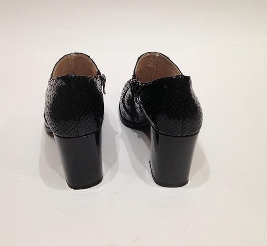 """Туфли лак """"Ferlenz"""" б.у, черные"""