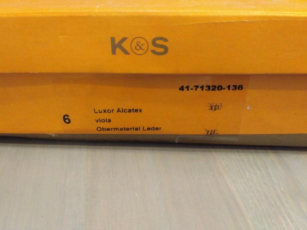 Сапоги K&S размер 6 на наш 39 цвет баклажан