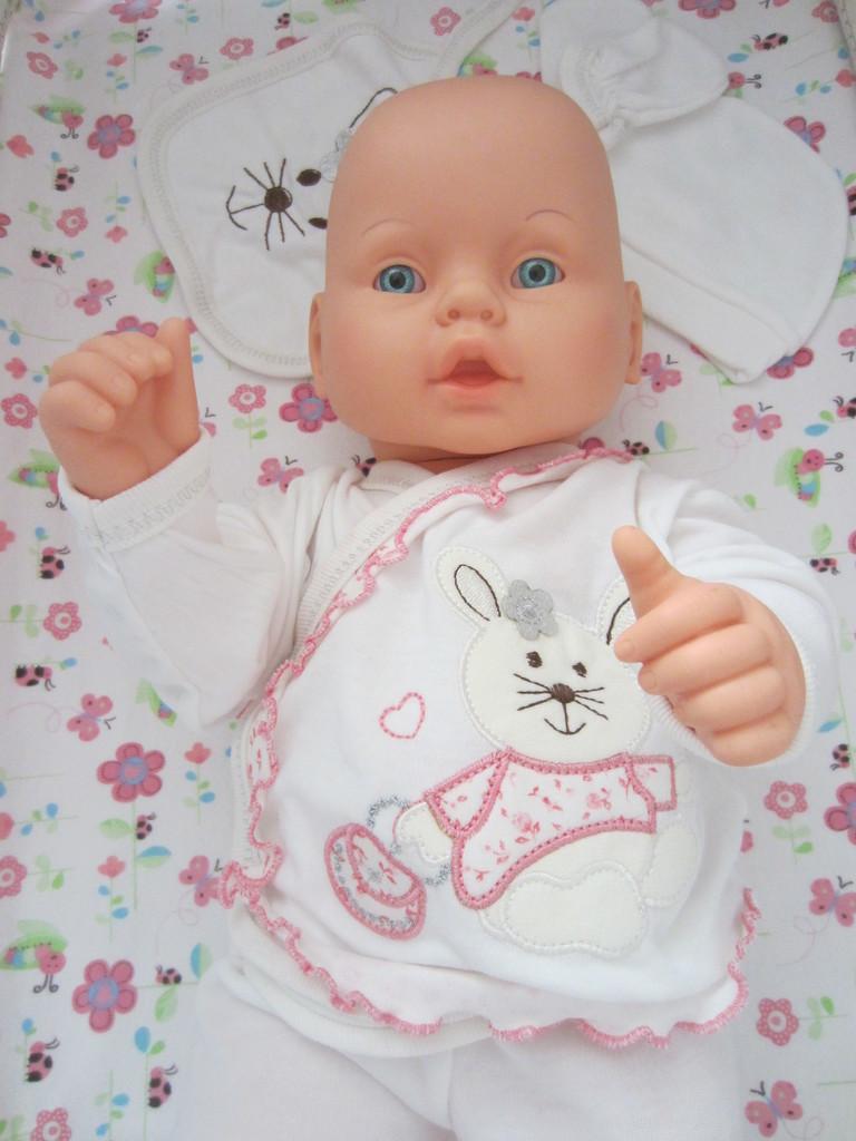 Кукла пупс реалистичная 53 см новая в коробке