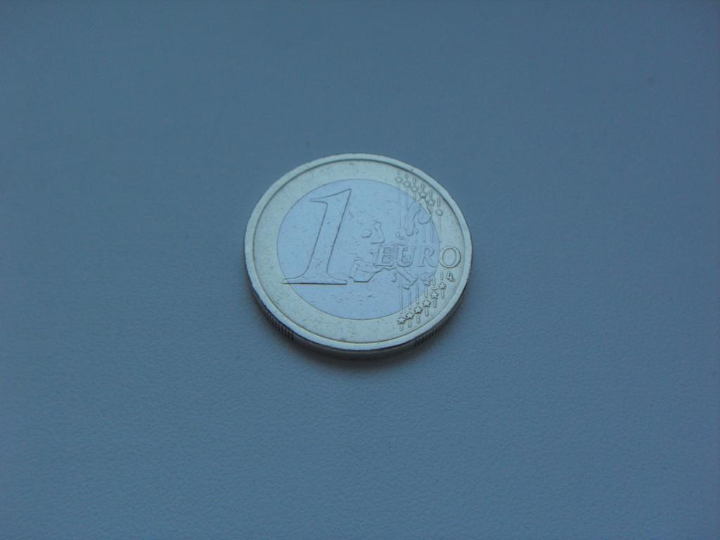 Монета 1 Евро 2003 год Испания