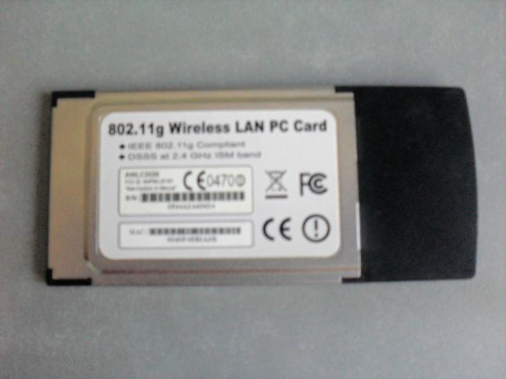 Wi-Fi адаптер pcmcia для ноутбука Airlink101
