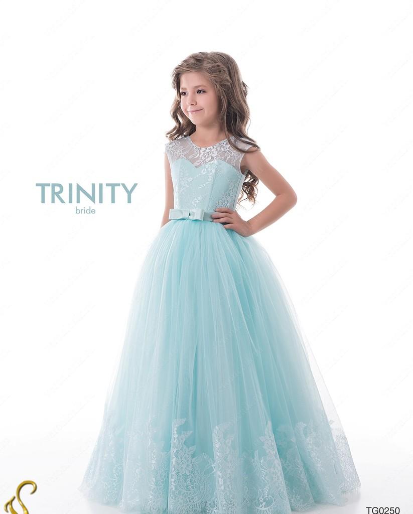 Детское платье в пол фото