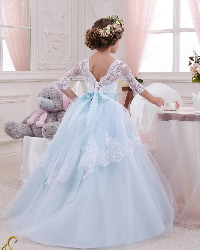 6d7575460aa Продаю пышные праздничные платья для девочек в пол. в Москве - Барахолка  Бебиблога