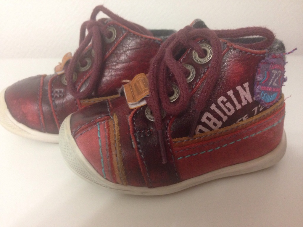 Ботинки кожаные Catimini 17 размер