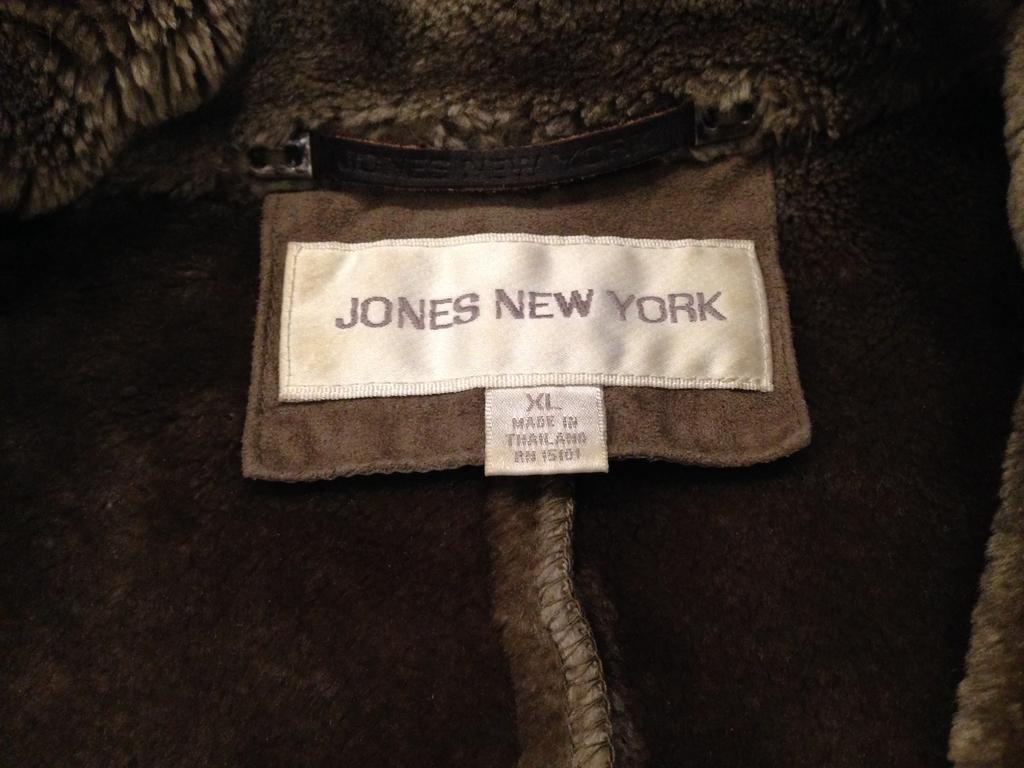 новая дубленка из Тайланда Jones New York