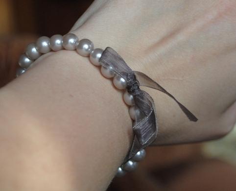новый браслет, искусств.жемчуг