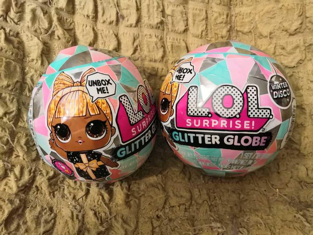 LOL surprise Winter Disco Glitter Globe