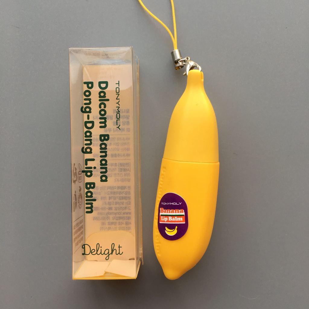 Бальзам для губ TONY MOLY Dalcom banana pong-dang