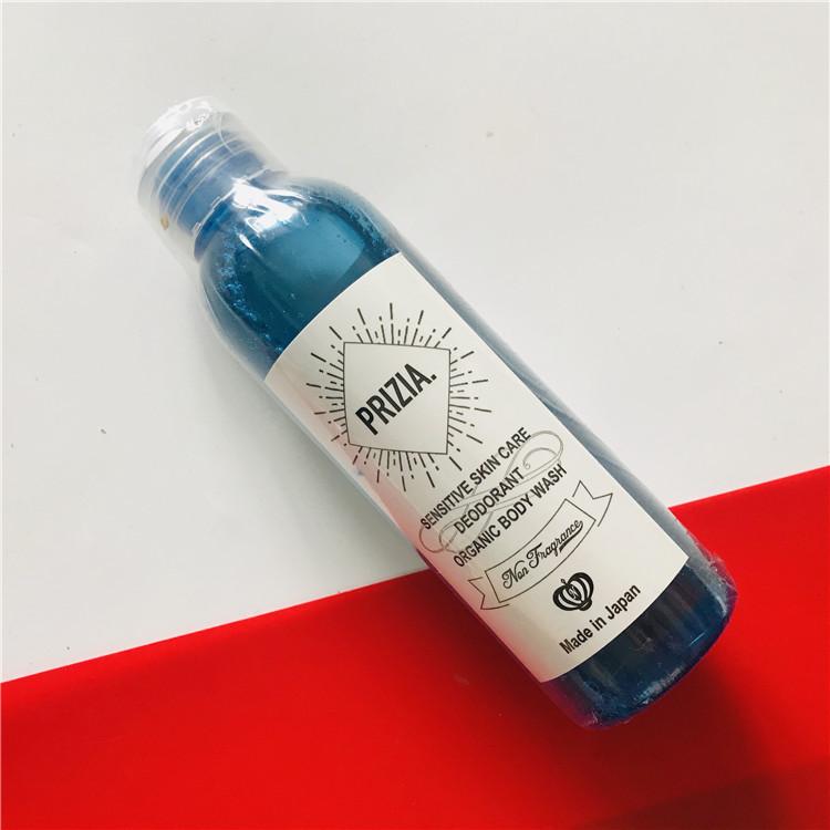 Prizia органический гель для мытья-дезодорант для