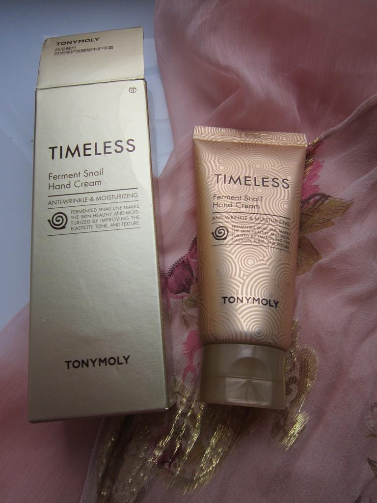 Улиточный крем для рук Tony Moly Timeless Ferment