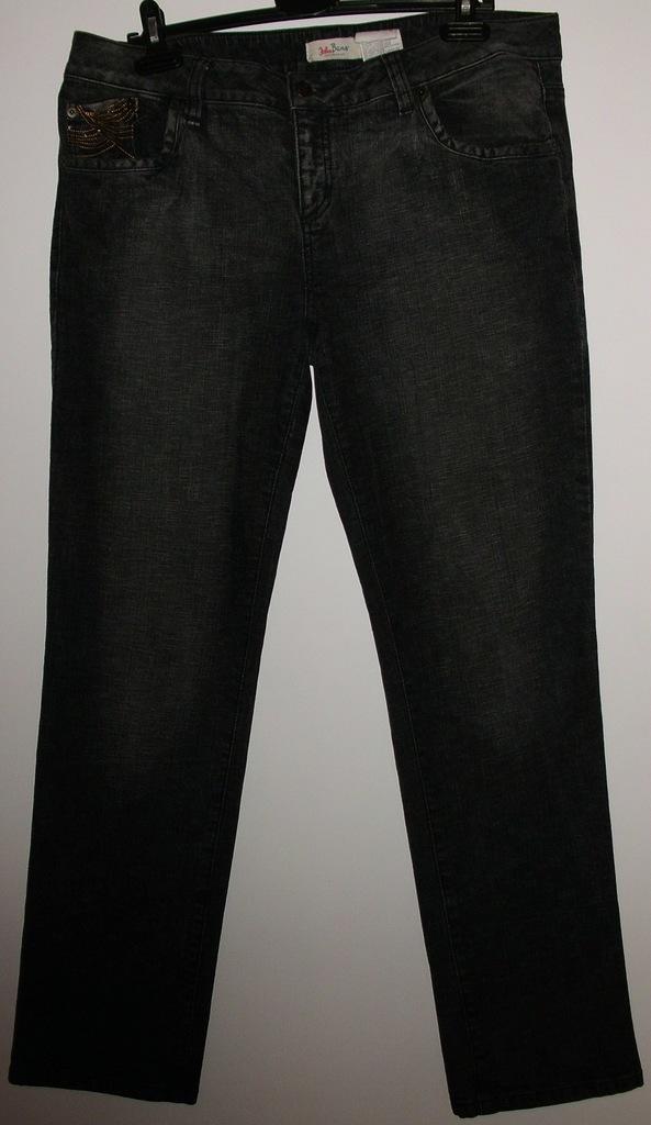Джинсы темно-серые John Baner плотные стрейч 56-58