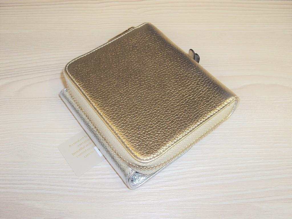 Новый кошелек Alessandro Beato. Серебро с золотом