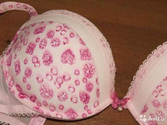 Бюстгальтер нежно-розовый. Новый