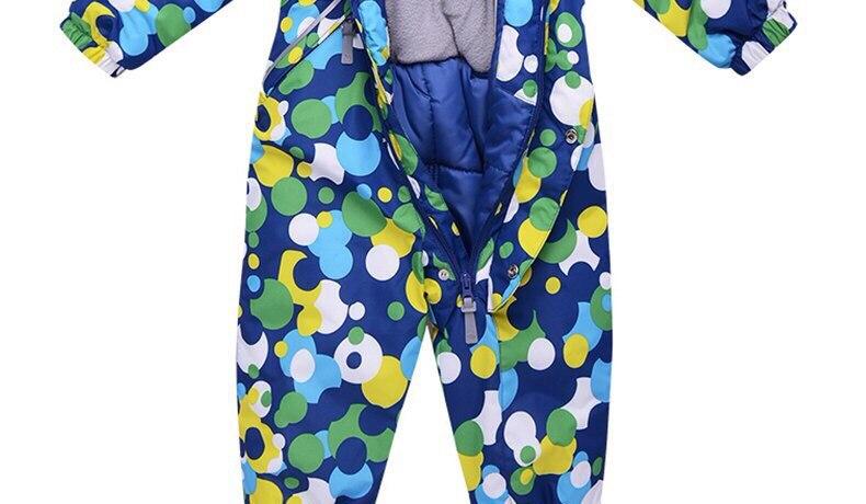 Зимнием качественные комбинезоны комплекты костюмы