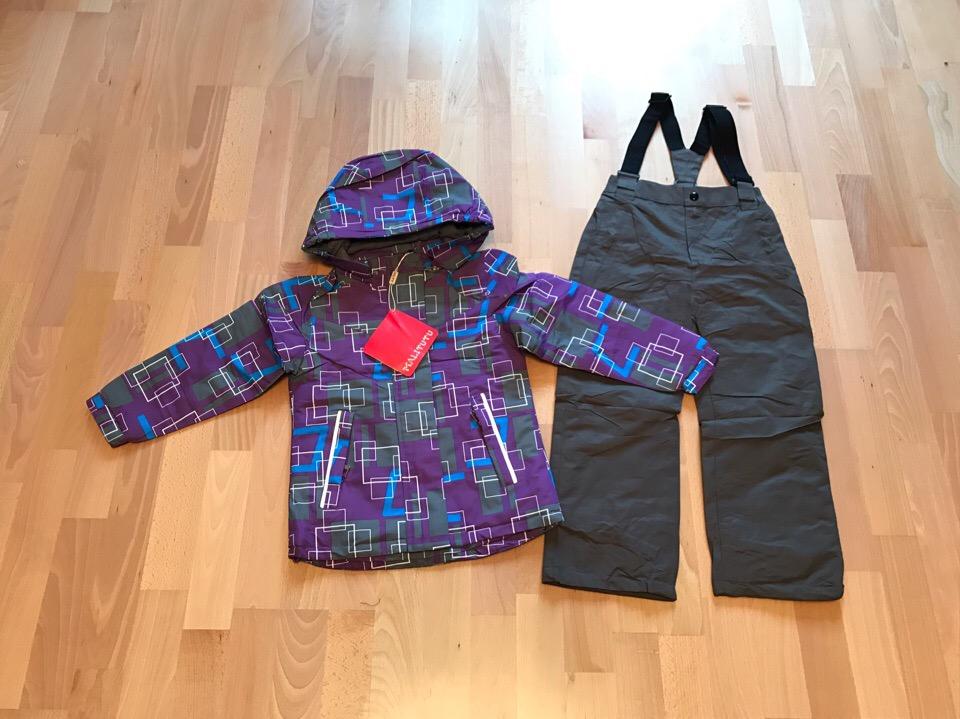 Осенние мембранные костюмы комплекты для девочек