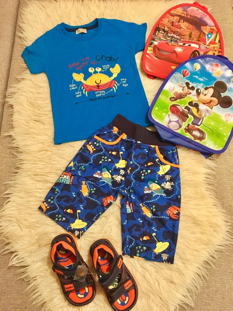 Набор футболка + шорты+ сандали + Подарок!