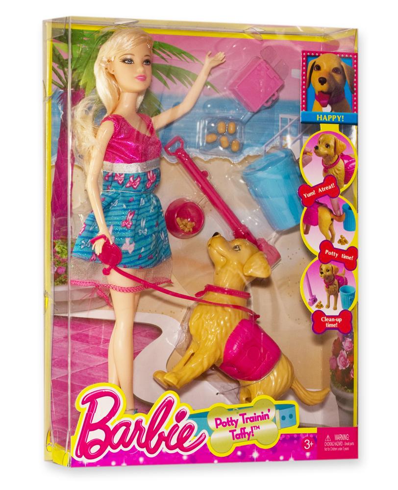 картинки игрушки барби с собакой