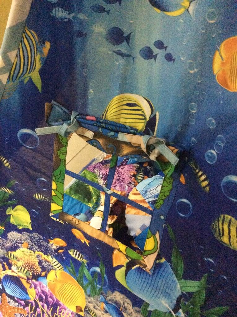 Подводное царство - вигвам, игровой комплект