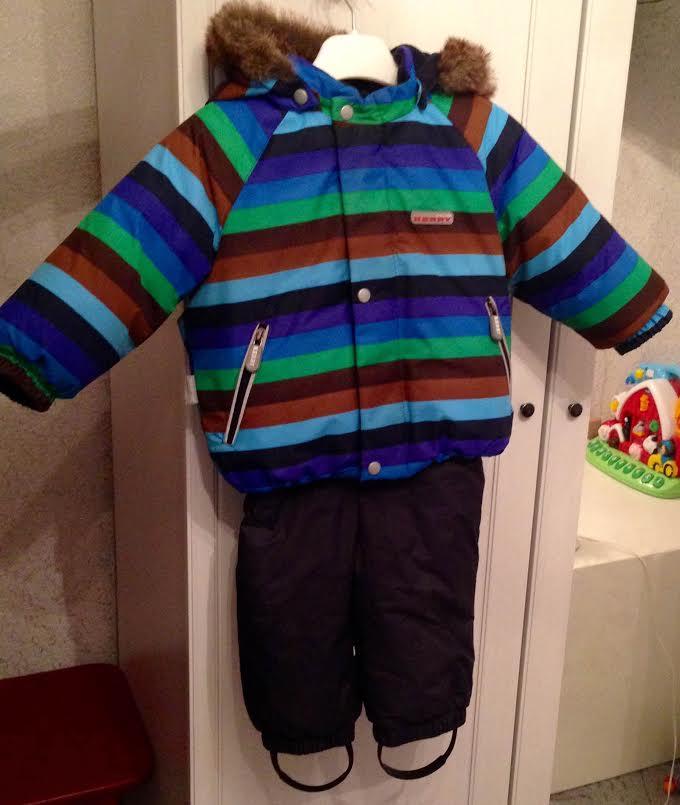 Детский зимний комбинезон Kerry
