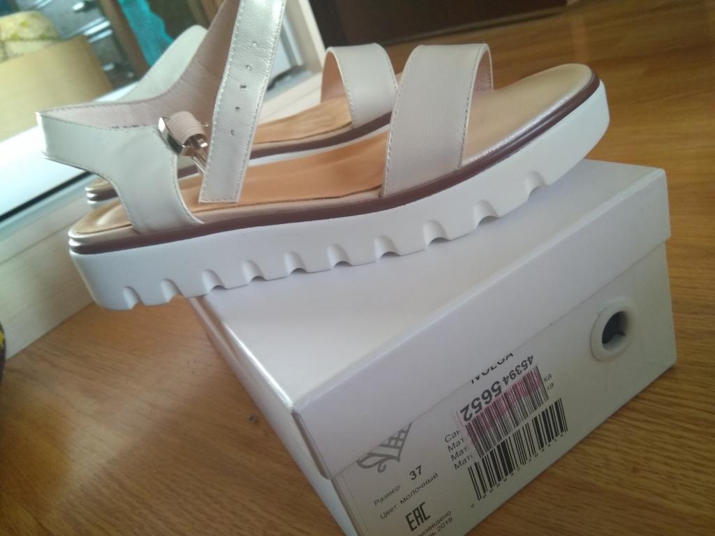 Продам новые из нат.кожи сандалии женские 37 р-р