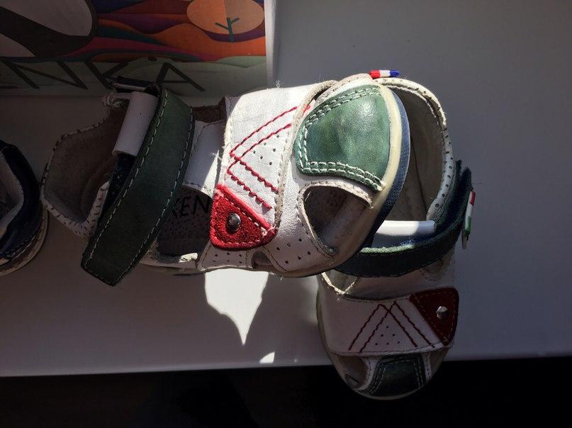 туфли KENKA 20 и 21 размер