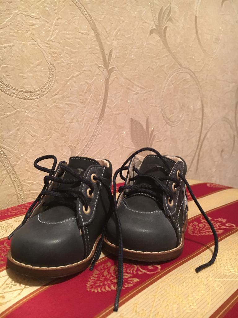 Новые ботиночки для первых шагов