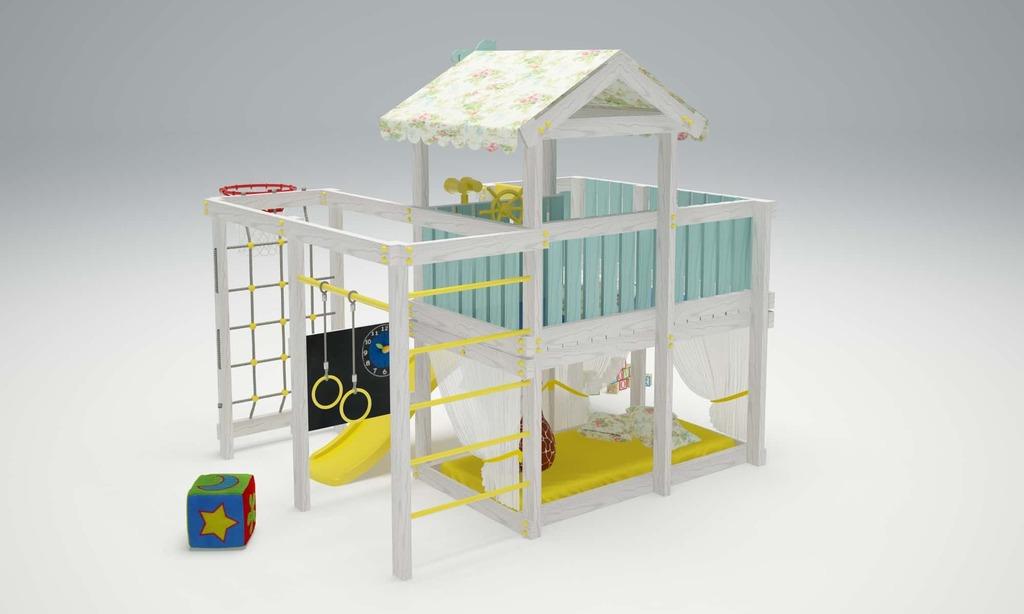 Детский игровой комплекс Савушка Baby-8