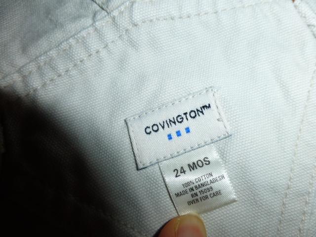 шорты-полукомбинезон Covington, 24мес