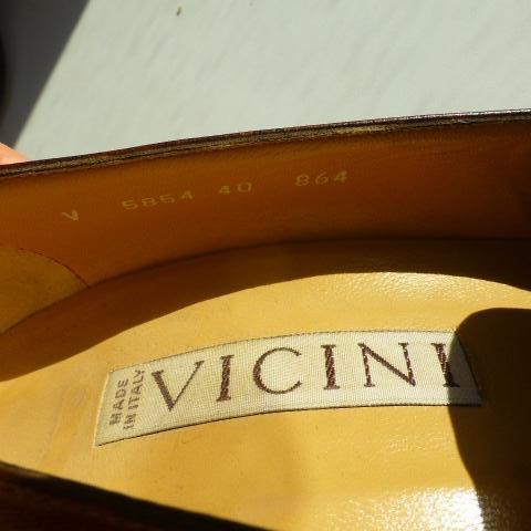 туфли Vicini (Италия), нат.кожа, р.40