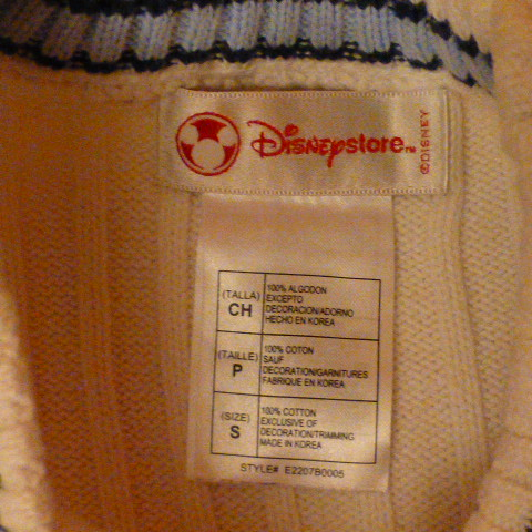 жилет вязаный Disney на 5-6лет
